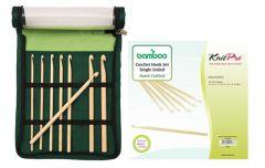 KnitPro Bamboo Häkelnadel Set - 1Stk
