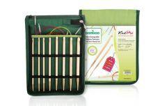 KnitPro Bamboo austauschb. Tunesische Häkelnadel Set - 1Stk
