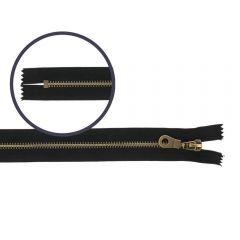 Reißverschluss nicht-teilbar 16cm antik - 10Stk - 580