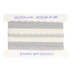 Nylon Spitzenband elastisch 17mm - 25m