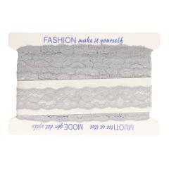 Nylon Spitzenband elastisch 42mm - 25m