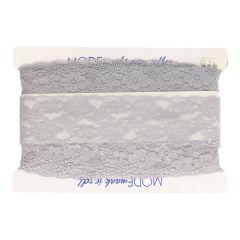 Nylon Spitzenband elastisch 67mm-25m