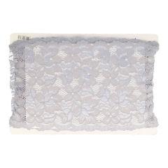 Nylon Spitzenband elastisch 157mm - 12,5m