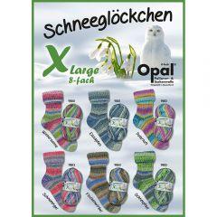 Opal XLarge Schneeglöckchen Sortiment 4x150g - 6 Far. - 1Stk