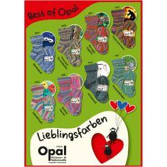 Opal Best of Opal Sortiment 5x100g - 8 Farben - 1Stk