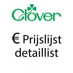 Clover Preisliste Detailhandel - 1 Stück