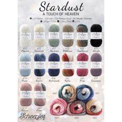 Scheepjes Stardust gratis Ladenposter - A2 Format - 1 Stück