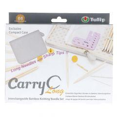 Tulip CarryC Long austauschb. Stricknadeln Set Bambus - 1Stk
