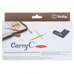 Tulip CarryC Fine Gauge aus. Stricknadeln-Set Bambus - 1Stk