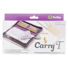 Tulip CarryT Tunesische Häkelnadel Set Bambus - 1Stk