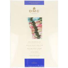 DMC Farbkarte 115-116-117-315-317-417 - 1 Stück