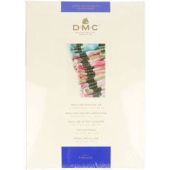 DMC Farbkarte 115-116-117-315-317-417 - 1Stk