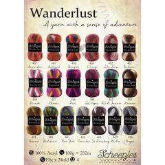 Scheepjes Wanderlust gratis Ladenposter - A2 Format - 1 Stk.