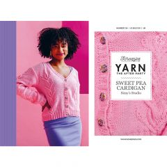 YARN The After Party no.124 Sweet Pea Cardigan - 20Stk