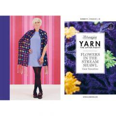 YARN The After Party Nr.73 Flowers Stream Shawl - 20Stk
