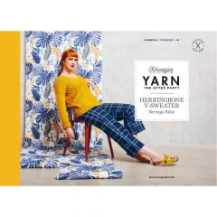 YARN The After Party Nr.98 Herringbone V-Sweater - 20Stk