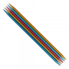 Addi Colibri Strumpfstricknadeln 15cm 2.00-8.00mm - 5Stk