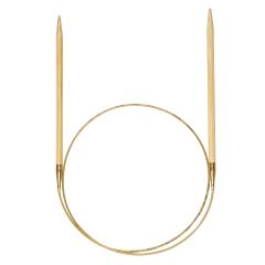 Addi Bambus-Rundstricknadeln 80cm 2.50-12.00mm - 5Stk