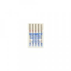 Schmetz Karton Box Sticken 5 Nadeln 75-11 - 90-14 - 30Stk