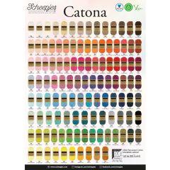 Scheepjes Catona Ladenposter - A2 Format - 1Stk