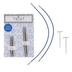 ChiaoGoo Twist kurze Lace Spitzen Komb 5+8cm - 3Stk