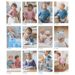 DMC Broschüre Baby Baumwolle Set von 12 - 1Stk
