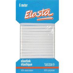 Elasta Unterwäschen-Elastik 5mm - 6m - 10Stk
