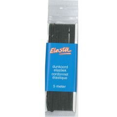 Elasta Elastik-Kordel dünn 1,5mm - 5m - 10Stk
