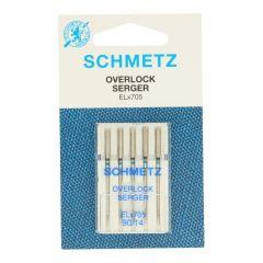 Schmetz Overlock 5 needles - 10pcs