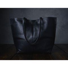 Furls Leder-Projekt Handtasche 43x33cm schwarz - 1Stk