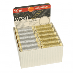 Gütermann Storage und Display Box Metallic 36 Spulen - 1Stk