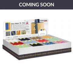 Gütermann Display Box Deco Stitch Nr.70 12x5x70m - 1Stk