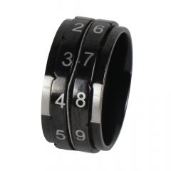 KnitPro Reihenzähler Ring 17,3-21,4mm schwarz - 3Stk