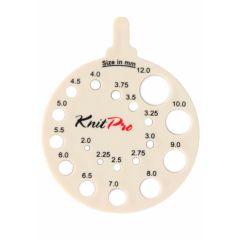 KnitPro Stricknadelmaß rund - 3 Stück