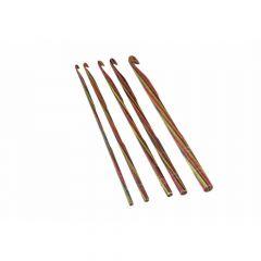 KnitPro Symfonie Holz Häkelnadel 3.00-12.00mm - 3 Stück