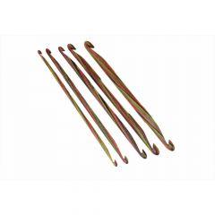 KnitPro Symfonie Holz doppels. Häkelnadel 3.00-10mm -3Stk.