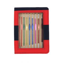 KnitPro Zing Häkelnadel Set 15cm 2.00-6.00mm - 1Stk