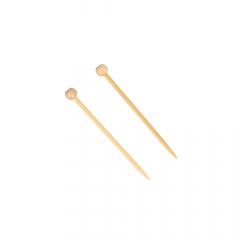 Seeknit Shirotake Mini Stricknadeln Bambus 6,5cm - 3Stk