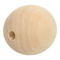 Holzperlen 6-60mm natur - 10-100Stk