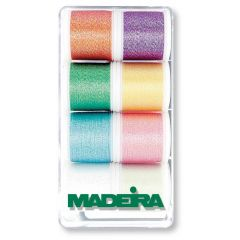 Madeira Metallic Stickgarn Garnbox 8x200m - 1Stk