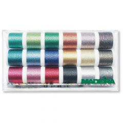 Madeira Metallic Stickgarn Garnbox 18x200m - 1Stk