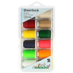 Madeira Aeroflock Overlock Box 12x1000m - 1Stk