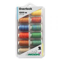 Madeira Aerolock nr.125 Overlock Box 12x1200m - 1Stk