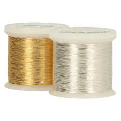Madeira GoldenSilver metallis. Edel-Stickgarn - 3Stk