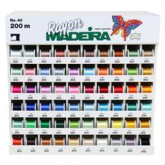 Madeira Display Rayon Nr.40 60x5x200m - 1Stk
