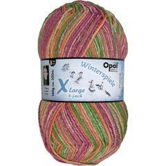 Opal Xlarge Winterspiele 8-fach 8x150g - 9595