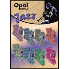 Opal Jazz Sortiment 5x100g - 8 Farben - 1Stk