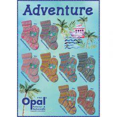 Opal Adventure Sortiment 5x100g - 8 Farben - 1Stk
