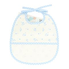 DMC Baby Stars Lätzchen 6 Monate 24,5x29cm - 1Stk
