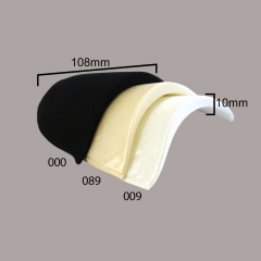 Schulterpolster Satin 10mm - 12 Paar